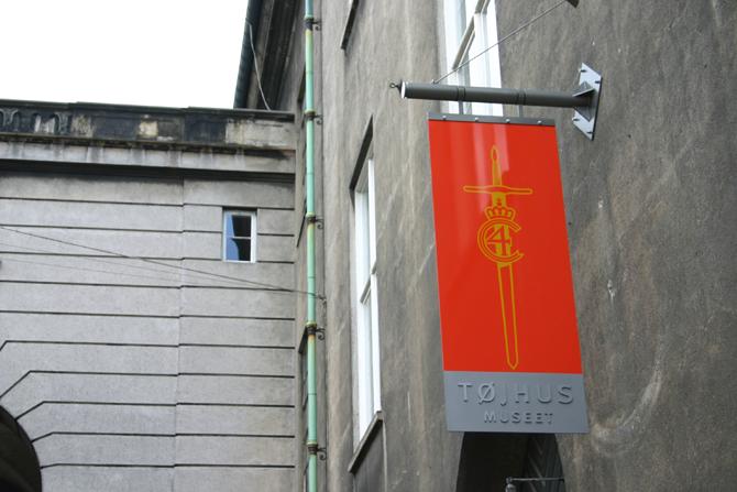tøjhusmuseum skilt